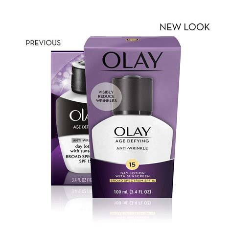 Olay Age Defying Anti Wrinkle olay age defying anti wrinkle day lotion with