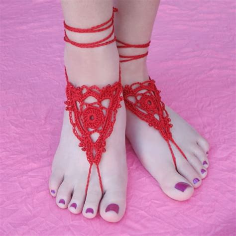 free crochet barefoot sandals crochet barefoot sandals the cutest collection the whoot
