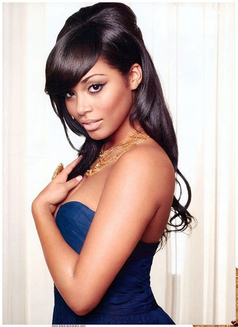 lauren london bun hairstyle lauren london holytaco