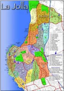 la jolla real estate map la jolla community map