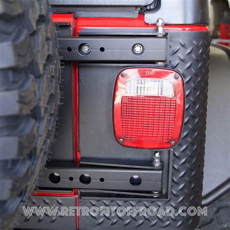 Jeep Wrangler Tailgate Hinge Morryde Hd Tj Wrangler Tailgate Hinges Jp54 025