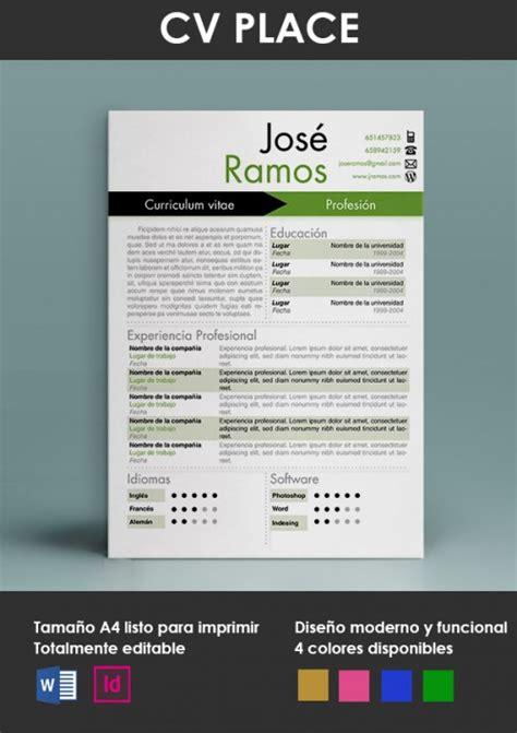 Plantilla Curriculum Vitae Union Europea modelos y plantillas de curr 237 culum vitae modelo curriculum