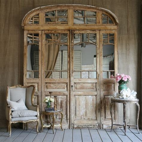 Decorating With Antique Doors by Antique Doors In The Interior Add Unique Accents To The