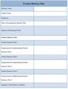 Bussiness Template by Product Template For Business Plan Sle Of Product