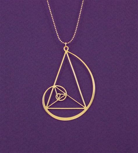Golden Ratio Necklace best 25 golden triangle ideas on proportion