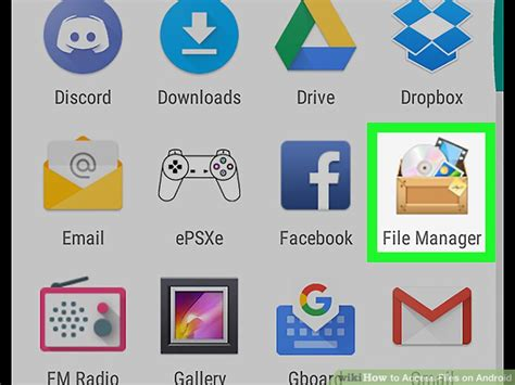 how to access files on android how to access files on android 12 steps with pictures