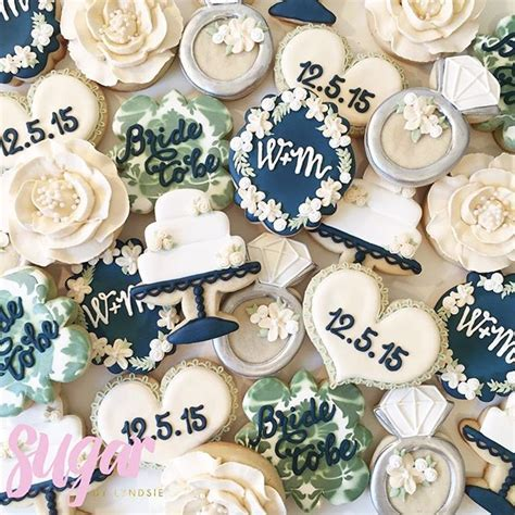 25  Best Ideas about Wedding Cookies on Pinterest