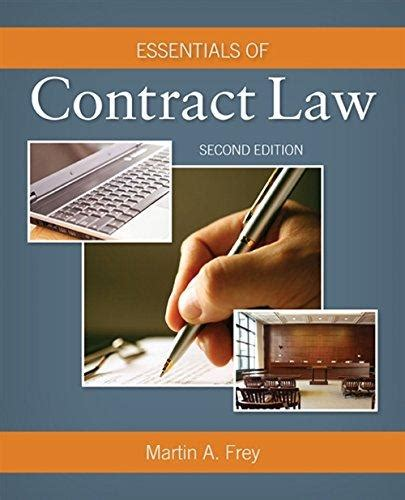 Isbn 9781285857114 Essentials Of Contract Law 2nd