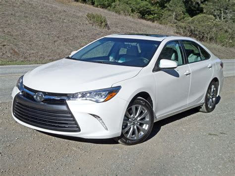 2015 toyota camry xle v6 test drive nikjmiles