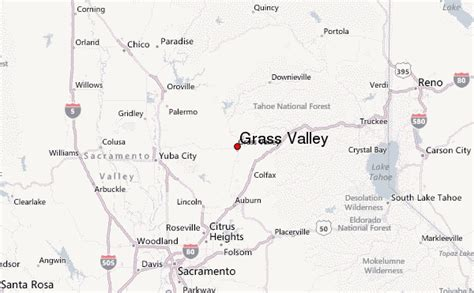 california map grass valley grass valley location guide