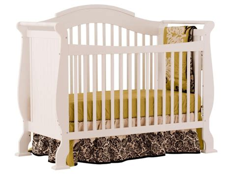 Stork Craft Crib Parts by Storkcraft Valentia Fixed Side Convertible Crib White