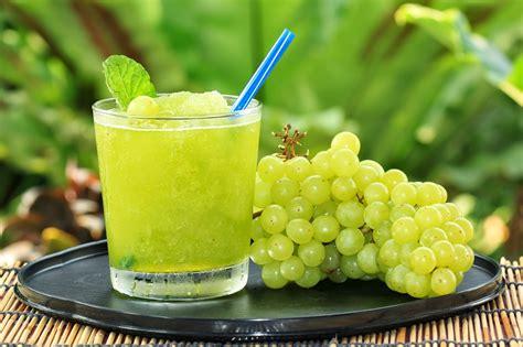 Grapes Detox by Vegan Green Grape Slushy Edibles