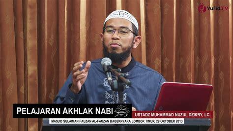 download mp3 adzan rodja tv pelajaran akhlak nabi ustadz muhammad nuzul dzikry lc