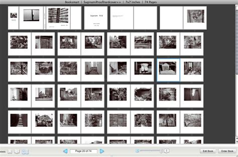 photo book layout design software publishingthe space in between