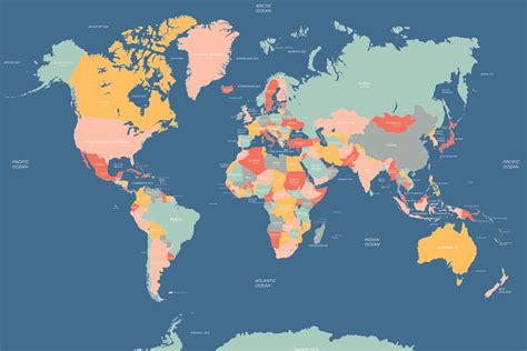 world map wallpaper navigator world map mural muralswallpaper co uk