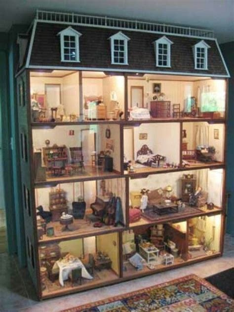 doll house dolls awesome doll house dollhouse pinterest