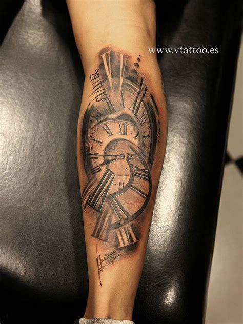 tattoo tribal pierna reloj pierna copia tatuajes pinterest tatoos