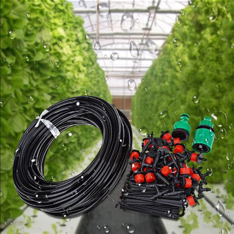 diy automatic micro drip irrigation system plant