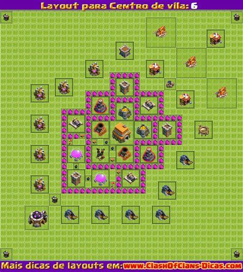 layout para centro da vila 6 chionswar o melhor cl 227 de clash of clans