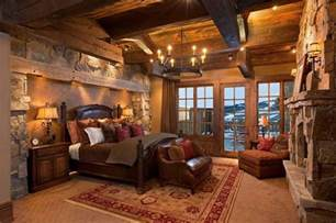 rustic log home decor 20 beautiful rustic bedroom ideas