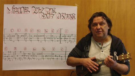 michael row the boat ashore ukulele tabs fingerstyle ukulele lesson 180 michael row the boat