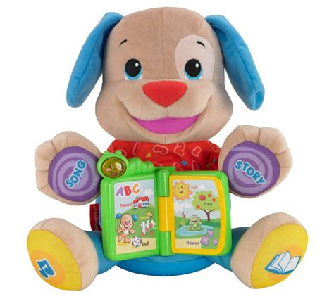laugh and learn puppy fisher price laugh and learn singin storytime puppy only 14 99 from 39 99