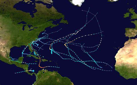 hurricane map 2016 atlantic hurricane season