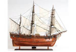 Model ships gt famous ships gt hms endeavour hand crafted wooden tall
