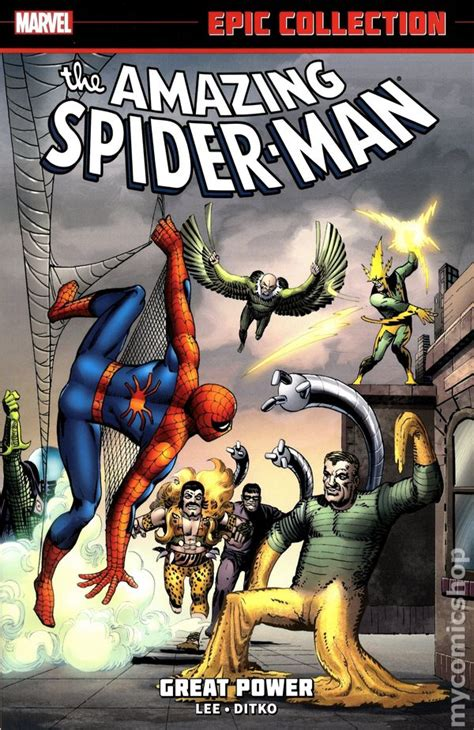 amazing spider man epic collection amazing spider man great power tpb 2014 marvel epic collection comic books