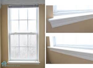Window Sill Trim How To Install Window Trim Pretty Handy