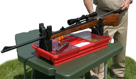 portable gun cleaning bench gun maintenance centers by mtm make it your gun cleaning