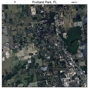 aerial photography map of fruitland park fl florida