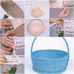 How to make simple newspaper basket how to instructions
