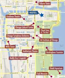 Map Of Downtown Chicago Hotels by National Guild Conference Program Conference For