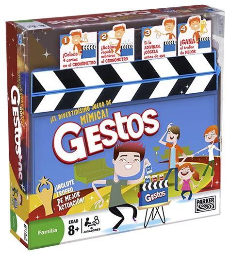 juego preguntas mesa gestos juego de mesa hasbro 04257 1001juguetes