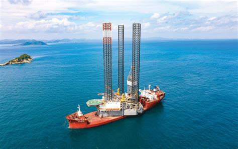 Shelf Drilling by Lrell Delivers Jackup Rig To Be Deployed Offshore Thailand