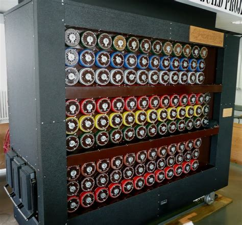 turing machine photos the of alan turing techrepublic