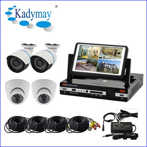 sell security system economic cctv set easy