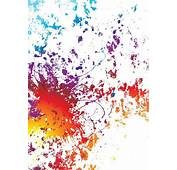 White Background With Rainbow Grunge  Stock Vector