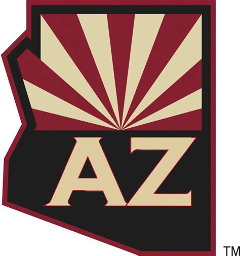 Kaos Sport Hockey Arizona Coyotes Logo Alternate Arizona Coyotes 2014 Pres Alternate Logo Diy Decals