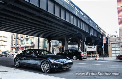 maserati granturismo spotted in manhattan new york on 04