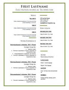 types of curriculum vitae