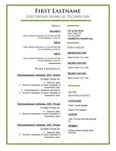 different types of resumes format 3