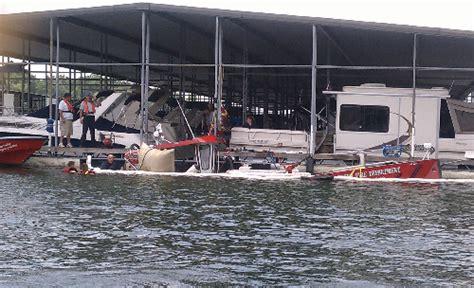 fire boat sinks denver fire department boat sinks in lake norman