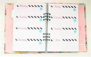 diy planner pages templates diy planner video tutorial and printable planner pages diy planner templates free sanjonmotel