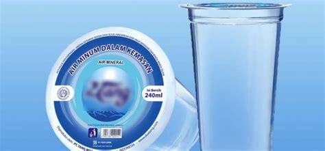 Air Kemasan Gelas Cara Memulai Bisnis Air Minum Kemasan Gelas Bagi Pemula