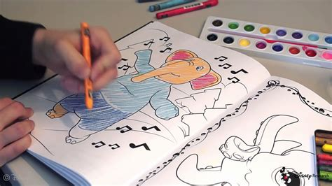 3d coloring book disney is working on 3d coloring books