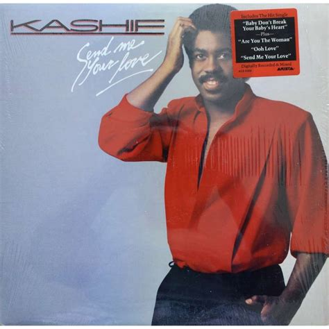 kashif album send me your love by kashif lp with lower ref 117530193
