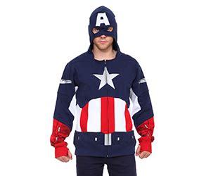Hoodie Anak Anak Captain America captain america men s zip hoodie
