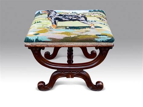 fine william iv  framed stool  www